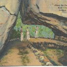 Along the Enchanted Trail Rock City Gardens Lookout Mountain postcard