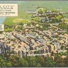 Rock City Gardens Fairyland atop lookout Mountain postcard