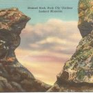 Sentinel Rock, Rock City Gardens Lookout Mountain postcard