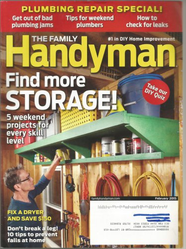 The Family Handyman- February 2015- Plumbing Repair Special!