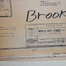 1970s Woolco Dept. Stores Baytown, Texas Fixture Plan