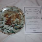 Morning Prayers Collector Plate Sugar and spice collection by Sandra Kuck