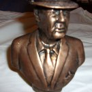 """Paul Bear Bryant bust statue. approximately 5 1/2 """" tall."""
