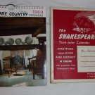 1969 Salmon's Shakespeare Country Calendar