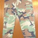 BDU's Woodland Camo  Pants- Small- x short  (# 40)