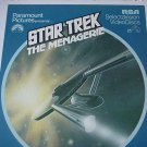 Star Trek The   Menagerie Presented by Paramount Pictures - RCA  SelectaVision Video Discs