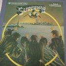 Superman II  -   RCA  SelectaVision Video Discs- Part 1 & 2 of 2