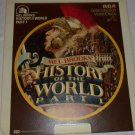 Mel Brooks' History of the World - Part 1-- RCA  SelectaVision Video Disc