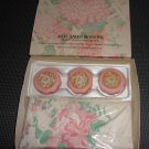 Vintage 1977-1978 Avon Tender Blossoms Guest Towels and Soaps