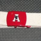 Alabama cloth belt- metal buckle