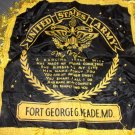 Vintage World War II U.S.  Army My Wife Pillow Cover- Fort George G. Meade, MD