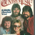 Country Music Magazine-  May/ June 1984- Alabama a band built to last