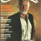 Country Music Magazine- January/February 1988- Kenny Rogers