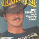 Country Music Magazine- July/August 1981- Burt Reynolds