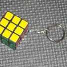 Rubicks cube key chain- vintage