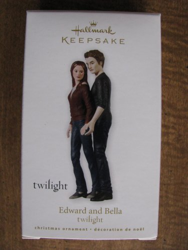 New 2010 Twilight Edward and Bella Hallmark Keepsake Christmas Ornament