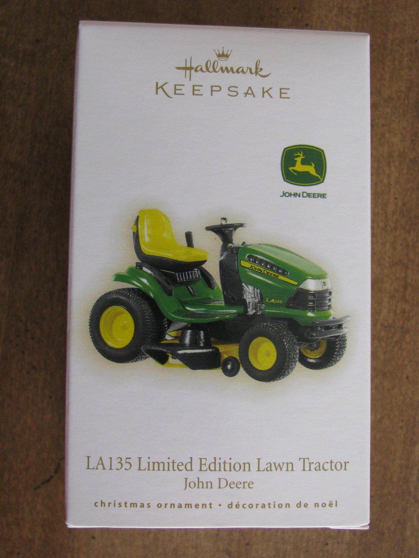 New 2009 LA135 Limited Edition Lawn Tractor John Deere Hallmark ...