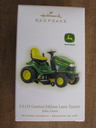New 2009 LA135 Limited Edition Lawn Tractor John Deere Hallmark Keepsake Christmas Ornament