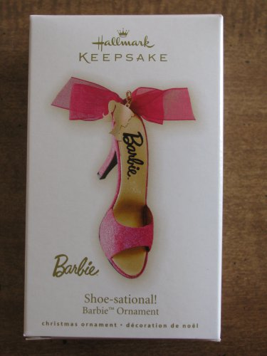 New 2009 Shoe-sational Barbie Hallmark Keepsake Christmas Ornament