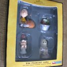 New 2008 Peanuts Great Pumpkin Charlie Brown 4 Hallmark Keepsake Halloween Ornaments