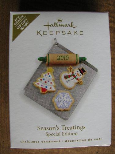 New 2010 Seasons Treatings Hallmark Keepsake Christmas Ornament