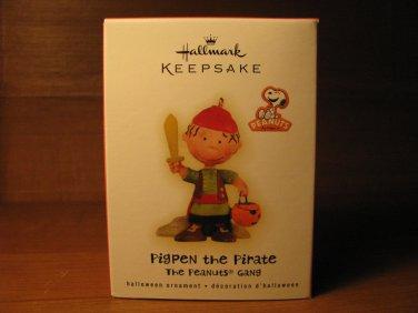 New 2009 Pigpen the Pirate Peanuts Halloween Hallmark Keepsake Ornament