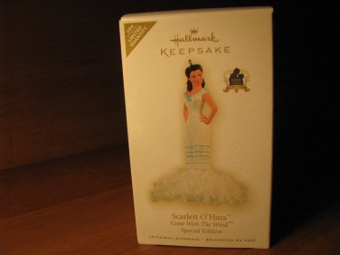 2009 Scarlett O'Hara Gone With The Wind Hallmark Ornament