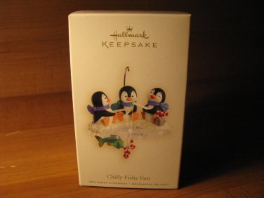 2007 Chilly Fishy Fun Hallmark Keepsake Christmas Ornament
