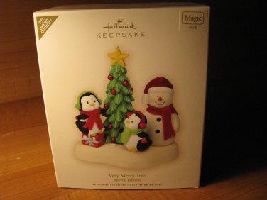 2007 Very Merry Trio Hallmark Keepsake Christmas Ornament