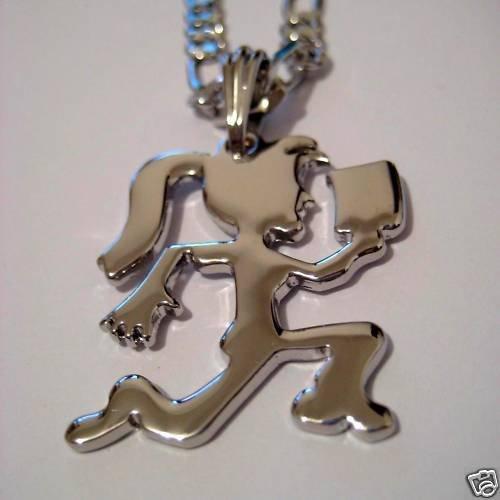 charm hatchetman icp pendant chain