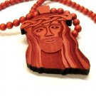New Goodwood Good Wood Jesus NYC Replica Pendant Charm Necklace Chain Red Hip Hop