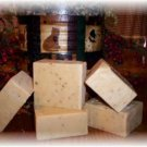 HONEY ALMOND~5~ BARS  HANDCRAFTED  GOATSMILK  SOAPS
