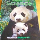 2007 1st Grade Science California Macmillan/McGraw Hill Student Textbook