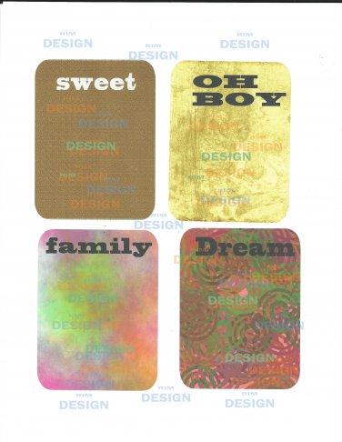 3x4 journal card printable pdf file