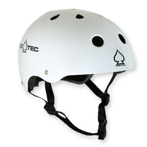 Protec Classic Helmet White