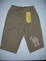 Gymboree TROPICAL OASIS Khaki Camel PANTS 6-12