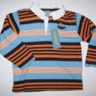 Gymboree BOATS AND BRIDGE Submarine Stripe Shirt 3T
