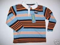 Gymboree BOATS AND BRIDGE Submarine Stripe Shirt 3T