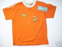 Gymboree ALL STAR CHAMP Orange BUG Detective TOP 3T