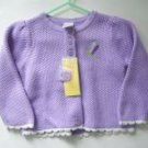 NWT Gymboree BOTANICAL BABIES Cardigan Sweater 12-18 M