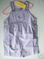 NWT Gymboree BOTANICAL BABIES Overall Girl 18-24 mo