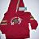 NWT Gymboree SURF CAMP Red Hoodie Pullover 12-18