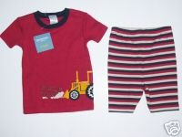 NWT Gymboree TRUCK SLEEPWEAR Dirt Digger Gymmies 12-18