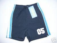 NWT Gymboree ALL STAR CHAMP Navy No. 5 Shorts 3-6 m