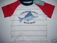 NWT Gymboree SALT WASHED Swordfish Sands Tee Top 18-24