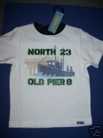 NWT Gymboree SALT WASHED Boat Old Pier Tee Shirt 4T