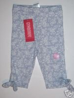 NWT Gymboree LOVE IS IN THE AIR Print Capri PANTS 12-18