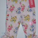 NWT Gymboree LOVE IS IN THE AIR Flower Tie Capri 6-12 m