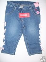 NWT Gymboree LOVE IS IN THE AIR Denim Capri JEANS 6