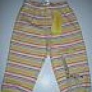 NWT Gymboree TROPICAL OASIS Yellow Striped PANTS 3-6